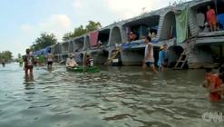 Makeshift Refuge in Bangkok