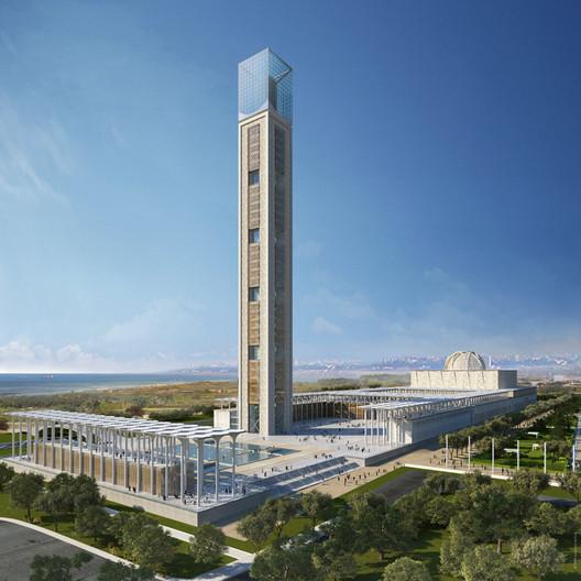 Mezquita de Argelia / KSP Juergen Engel Architekten