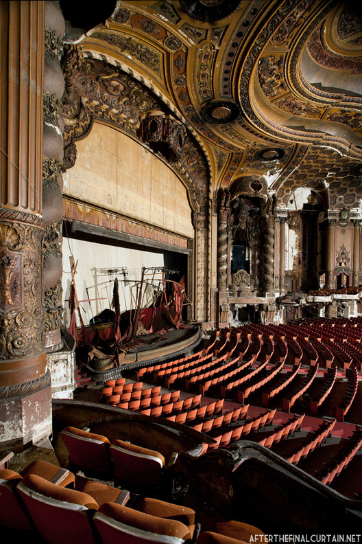 After The Final Curtain Abandoned Theaters Matt Lambros