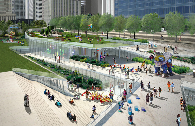 Chicago Children's Museum Out of New Plan for Grant Park