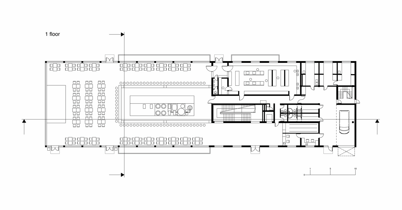 Gallery of private brewery forma architectural studio 13 for Brewery floor plan