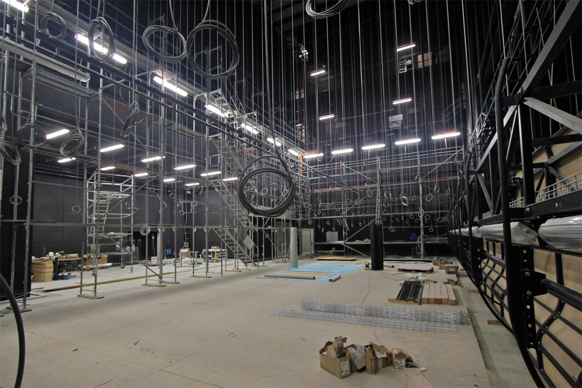 In progress new theater equilibre d rig ag archdaily for Architecture equilibre