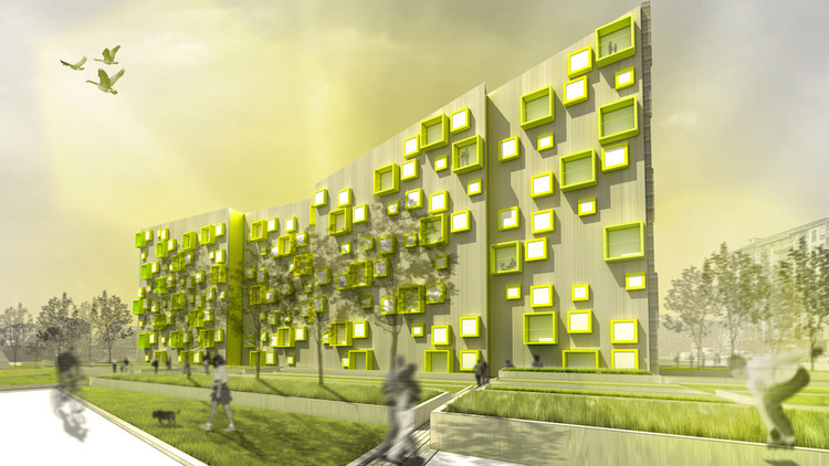 Sustainable Residential Complex Morfearch Save This Picture Courtesy Of