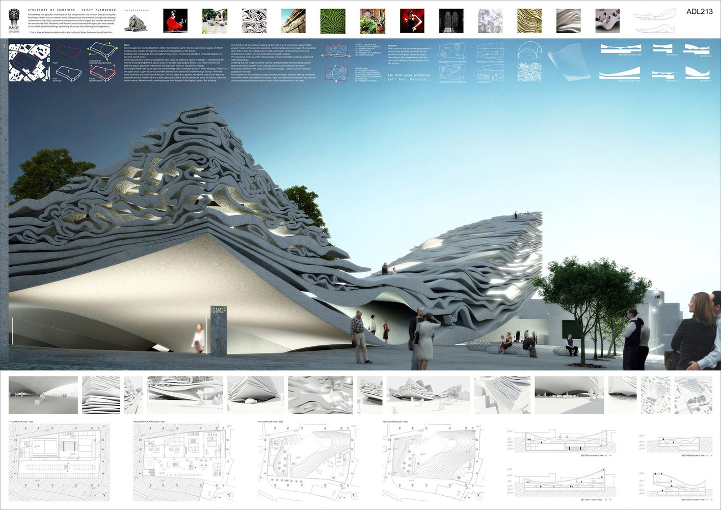 81 architecture competition boards winner of flinders for Architecture sites