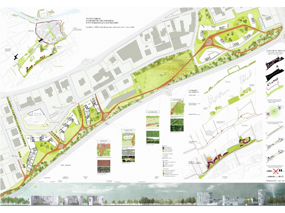 Gallery of the park designs the city proposal c s for Garden design milano
