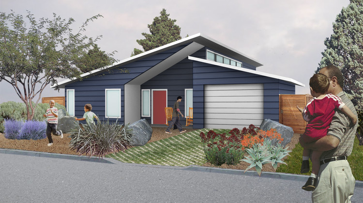 Habitat For Humanity Adopts Student House Design | ArchDaily