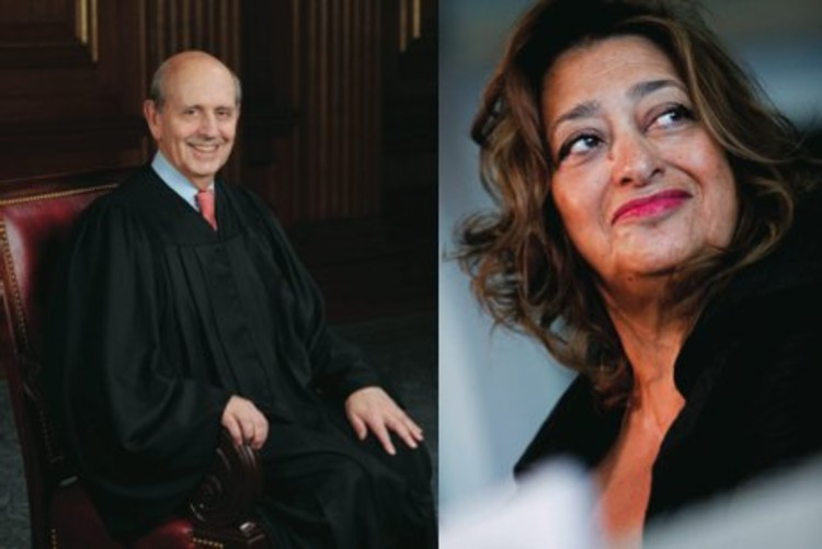 Stephen Breyer and Zaha Hadid: New Jurors for the Pritzker Architecture Prize Jury