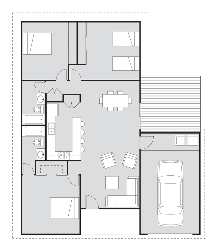Gallery of Habitat For Humanity Adopts Student House Design - 3