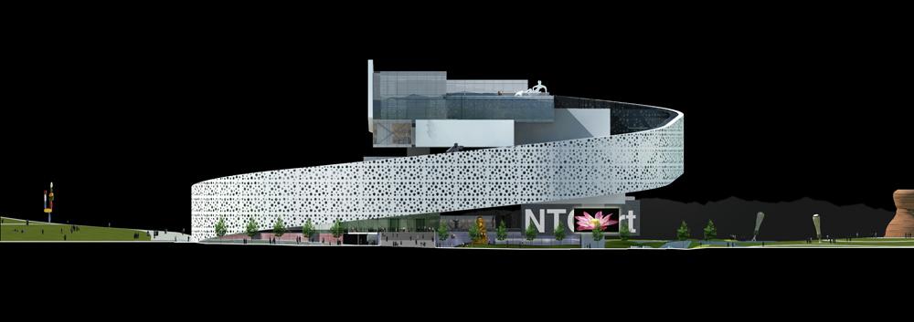 Gallery of New Taipei City Museum of Art Proposal / Zerafa ...