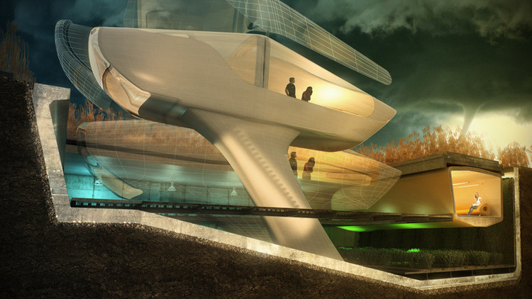 Hurricane Proof Housing Proposal | ArchDaily