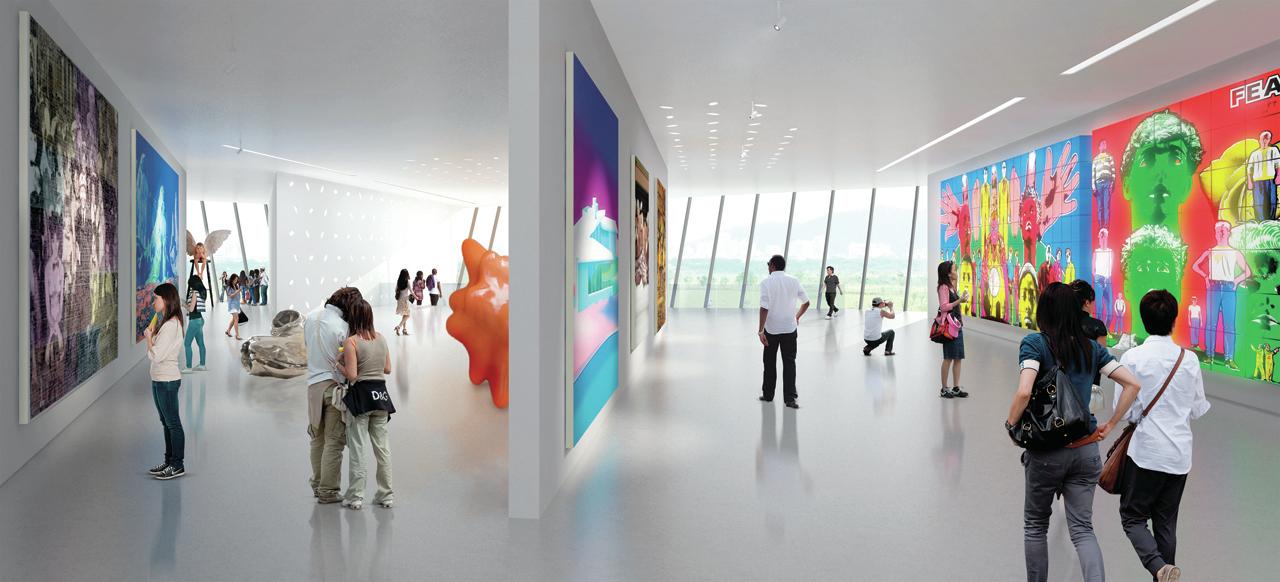 D Art Exhibition Taipei : Gallery of new taipei city museum art proposal lyons