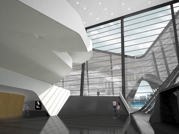 Busan Opera House Proposal Pelletier De Fontenay Archdaily