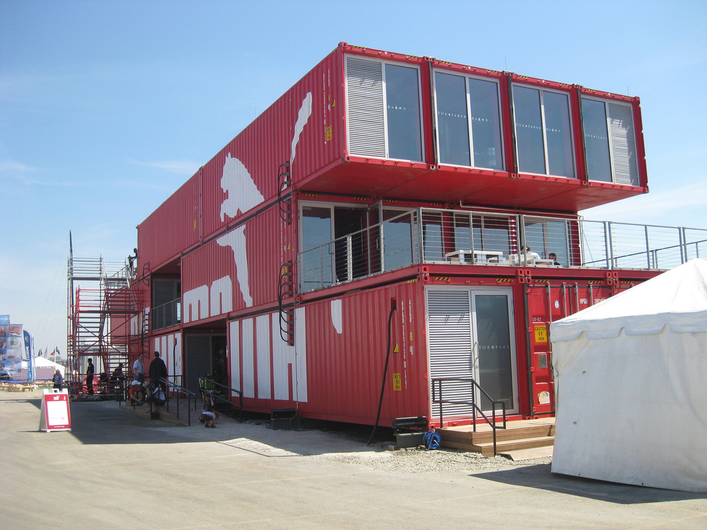 Gallery of the pros and cons of cargo container for Architecture container