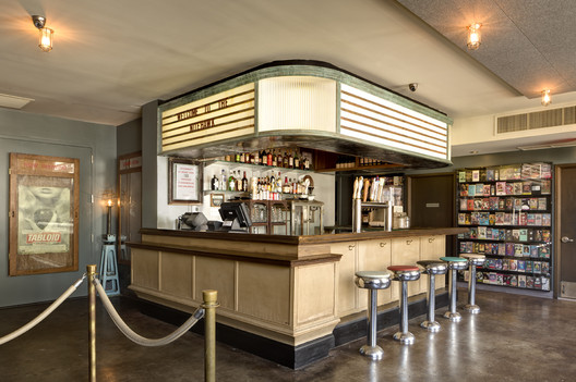 Nitehawk Cinema and Apartments / Caliper Studio