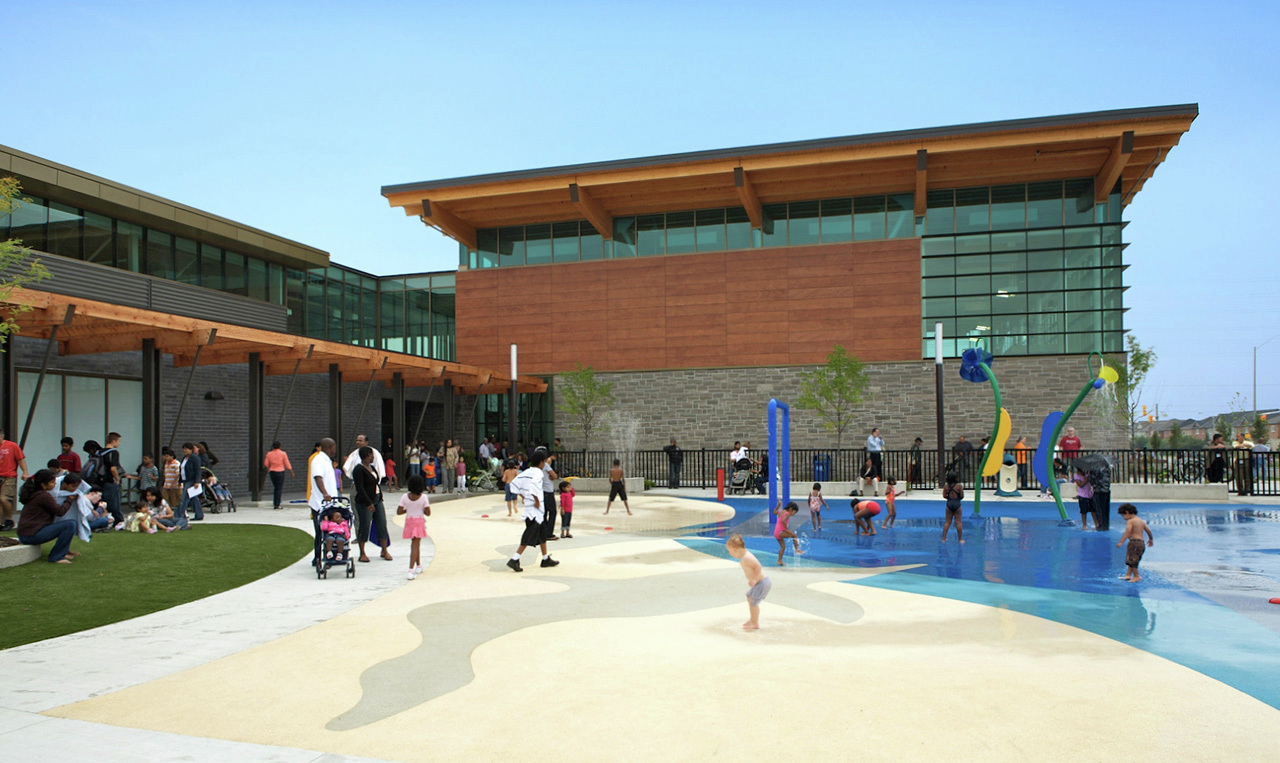 Gallery of cassie campbell community centre perkins will 1 for Community center toronto swimming pool