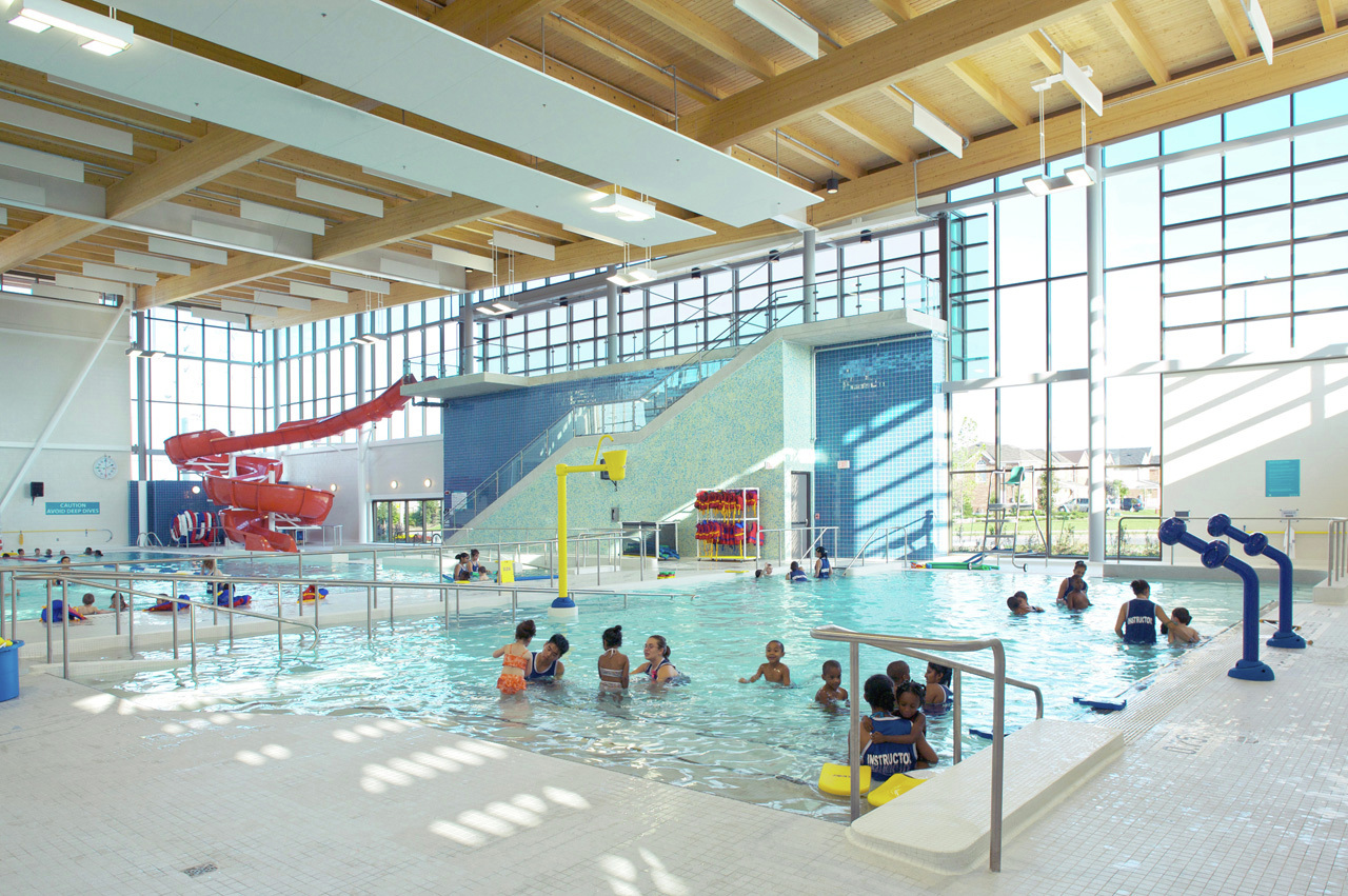 Gallery of cassie campbell community centre perkins will 7 for Community center toronto swimming pool