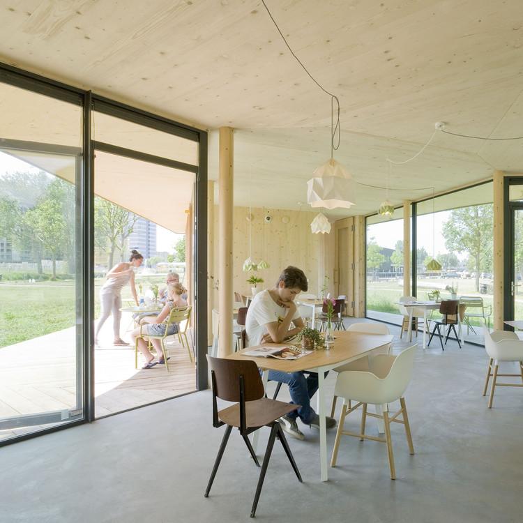 Populair Tea House 'Tuin van Noord' / GAAGA   ArchDaily @RC43