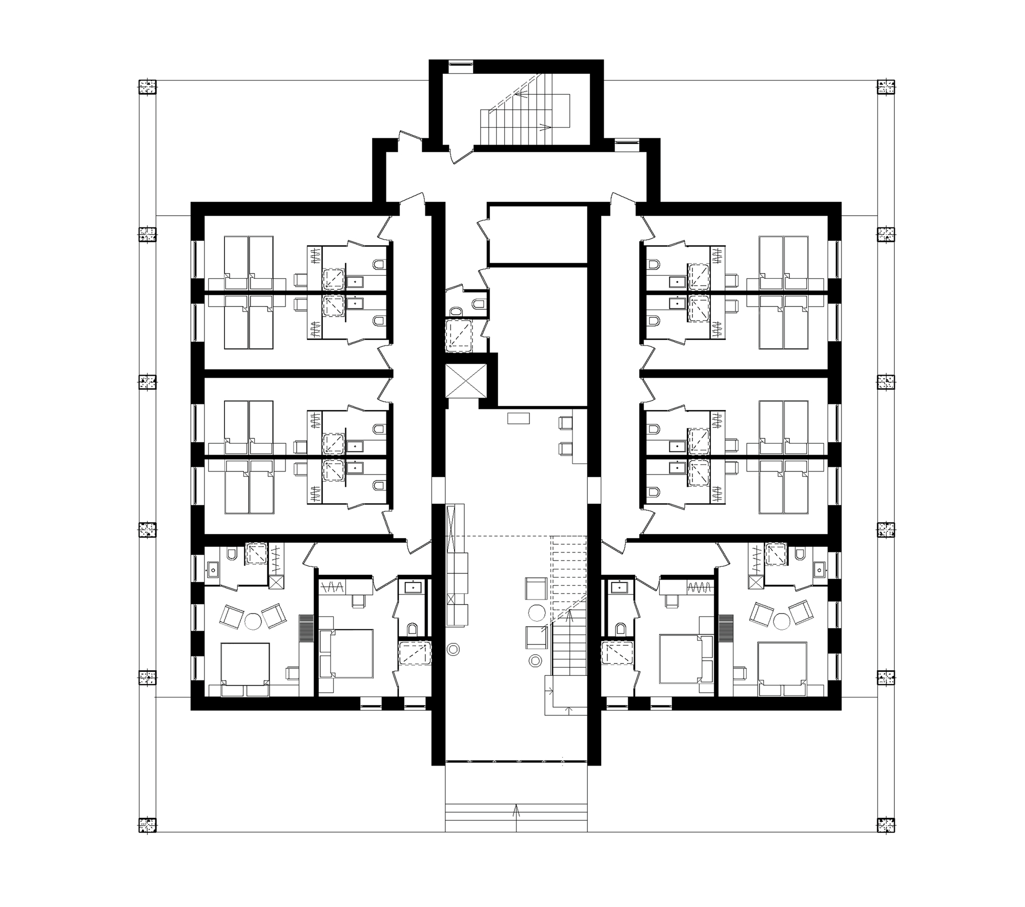 Burj Al Arab Floor Plans Galeria De Hotel No Parque Verholy Yod Design Studio 21