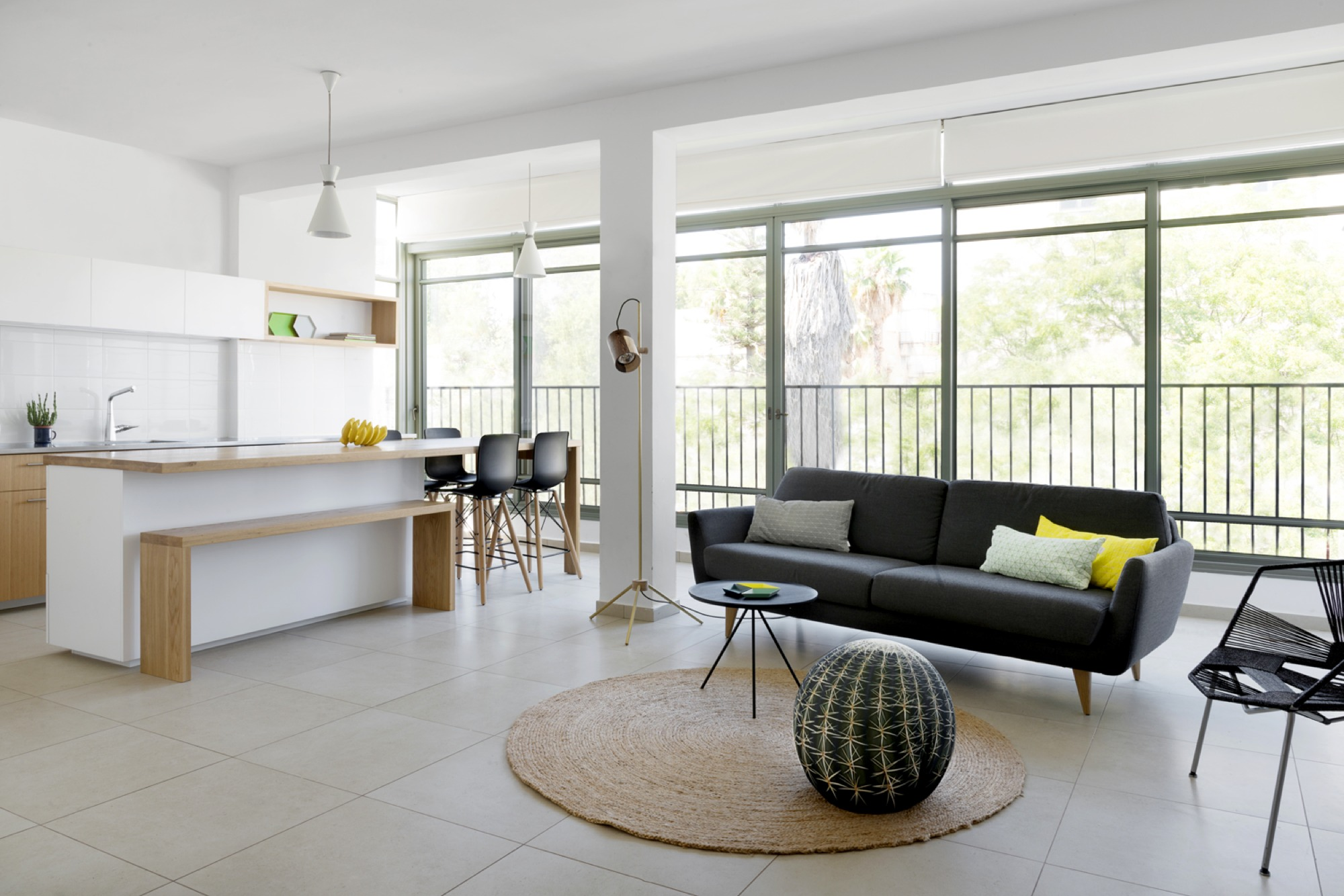 Gallery of apartment in ramat gan itai palti 6 - A room apartment that serves two purposes design ...
