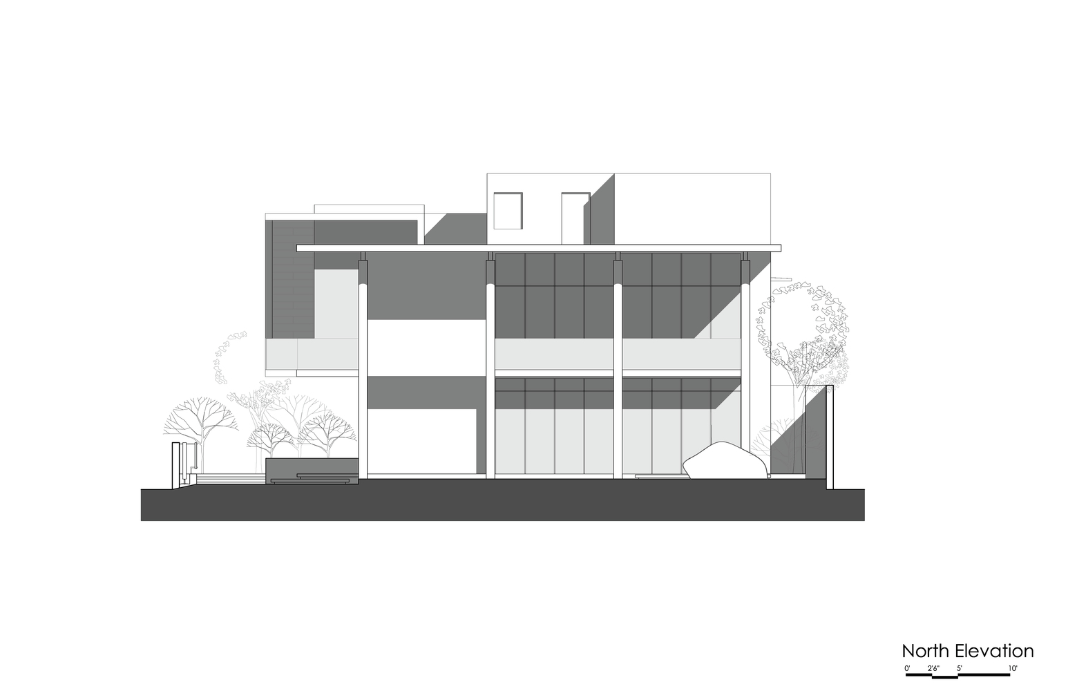 Gallery of Courtyard House / Abin Design Studio - 23