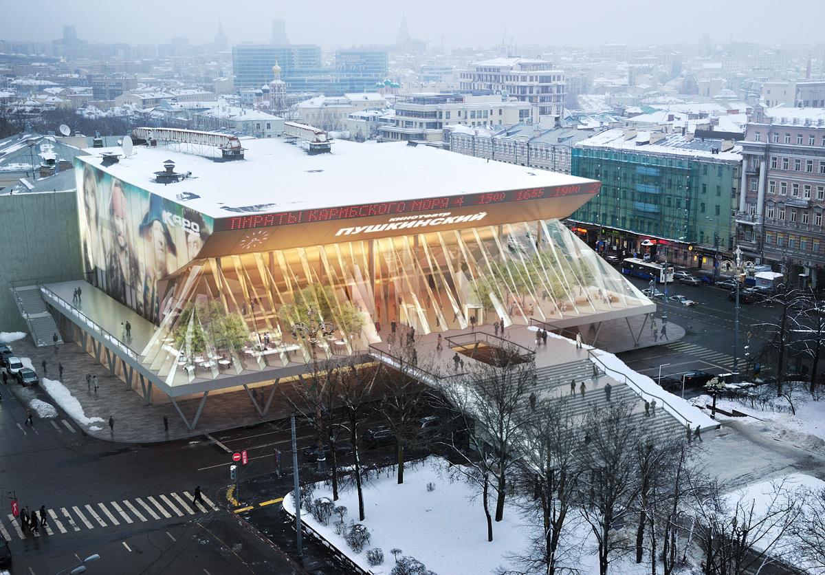 Popular Architecture gallery of cinema pushkinsky / popular architecture - 9