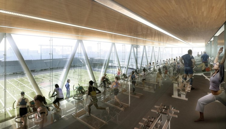 In Progress Goldring Centre for High Performance Sport Patkau