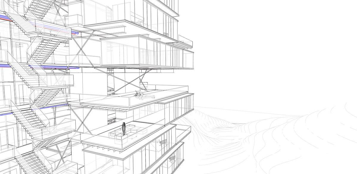 Vertical Villages For European Snowbirds OFF Architecture PR Architect And Samuel Nageotte