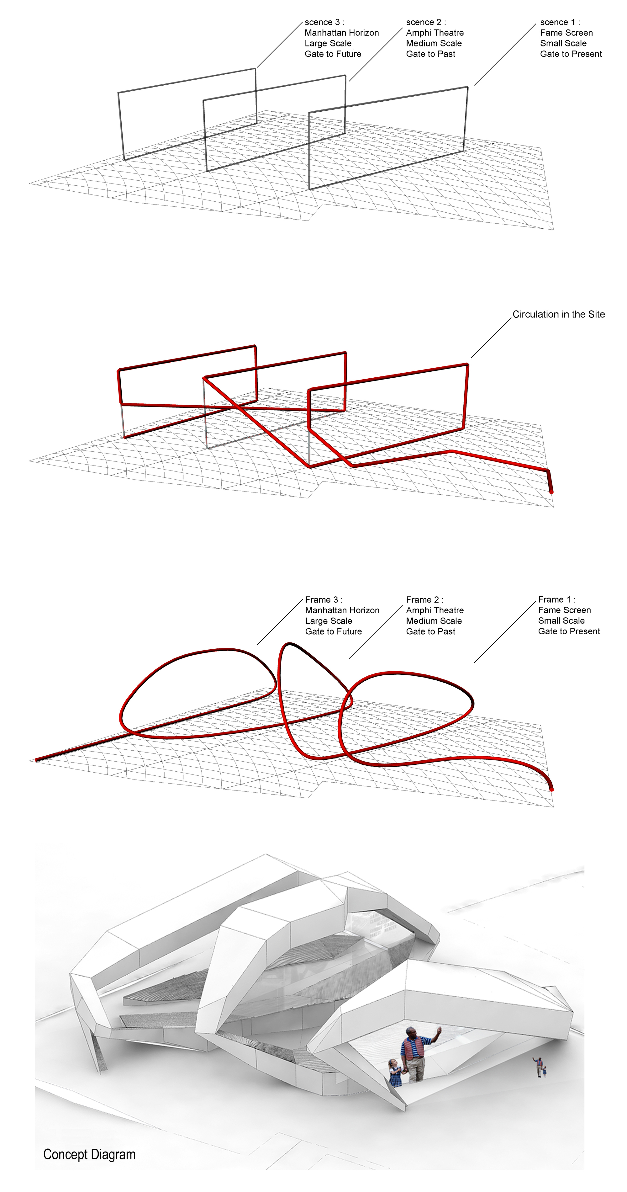 Gallery of long island cinema competition afsarmanesh for Concept 8 architects