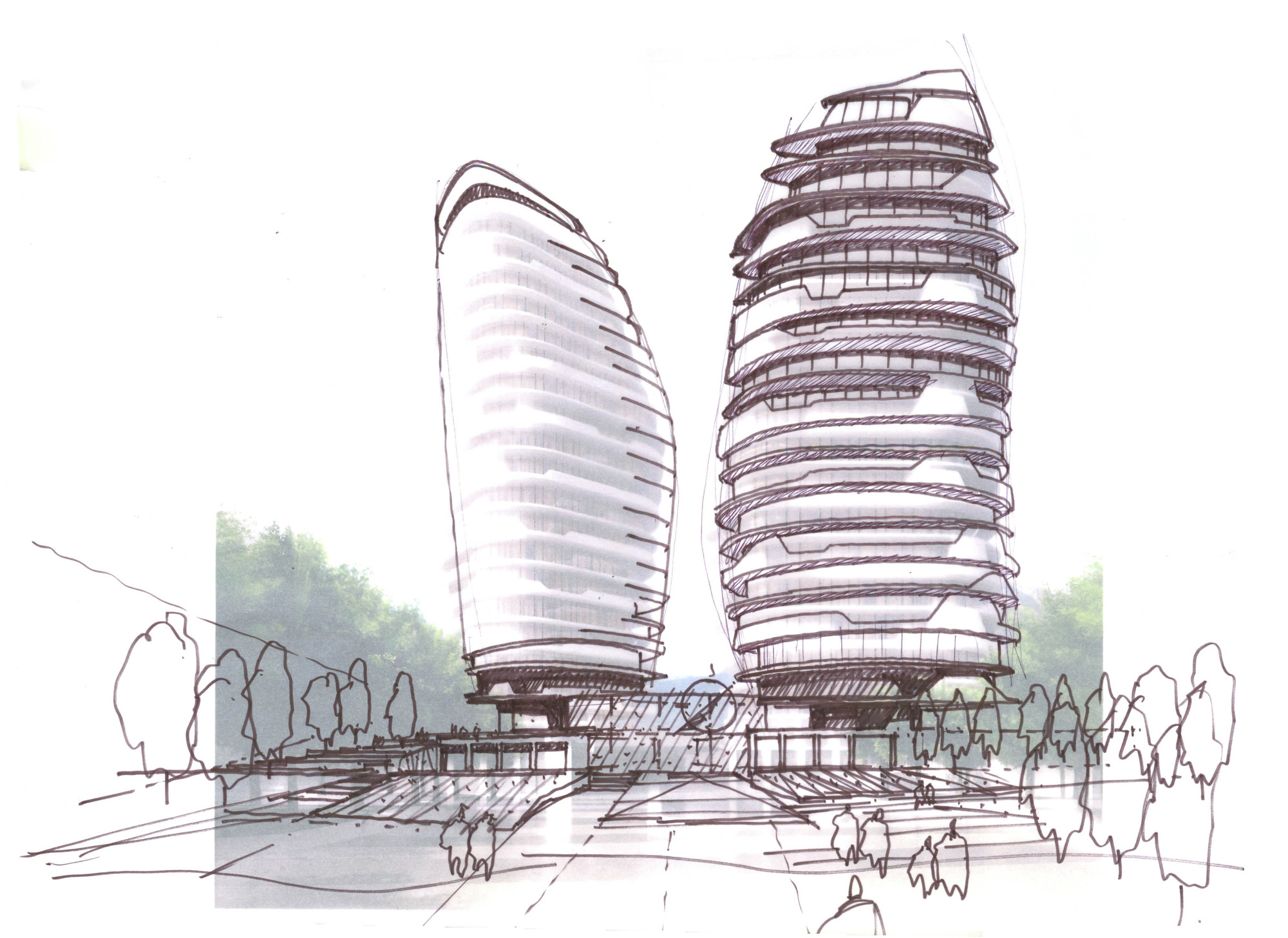 Gallery Of McAdam Architects Proposal For Landmark Mixed-use Development In Sochi - 9