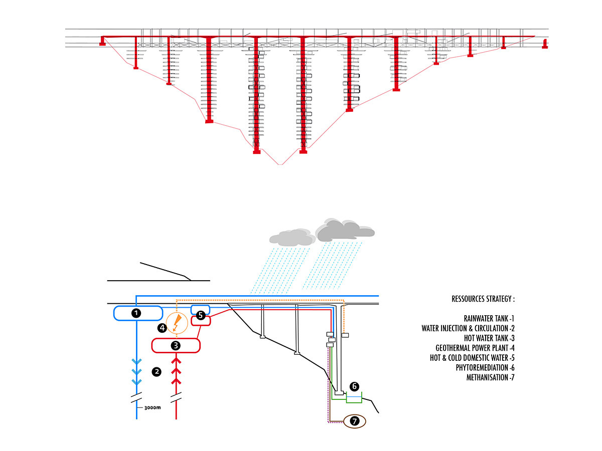 Gallery Of Vertical Villages For European Snowbirds Off Geothermal Power Plant Diagram Zoom Image View Original Size
