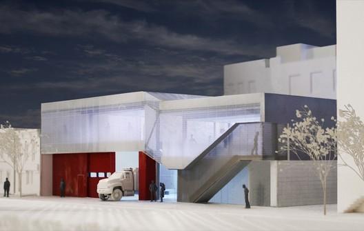 In Progress: New Greenpoint EMS Station / Michielli + Wyetzner Architects