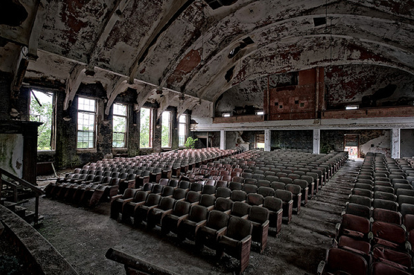 Abandoned Movie Theater Ct