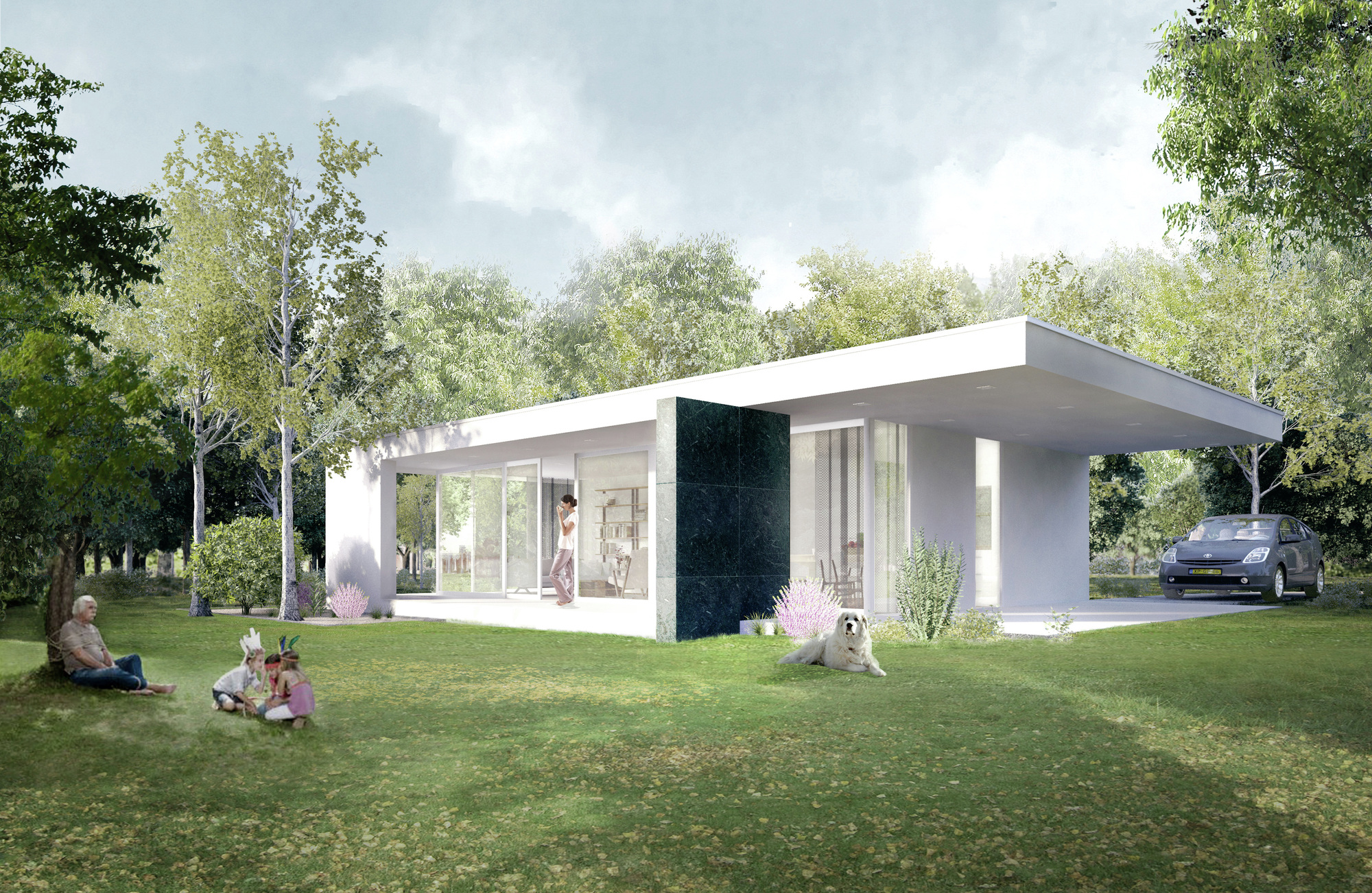 Open Concept Bungalow House Plans Gallery Of Being Home Being Development 18