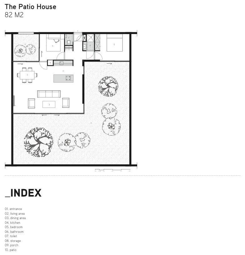 Gallery of being home being development 12 for Floor plans for patio homes