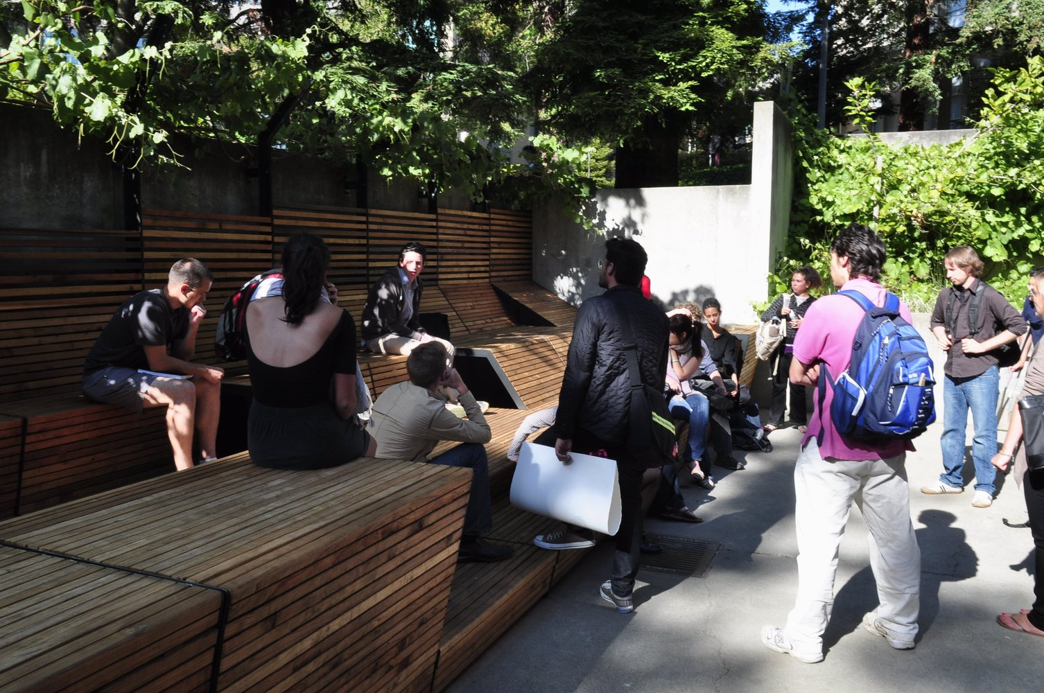 Wurstershire Sauce / UC Berkeley Landscape And Architecture Graduate  Student Team,Courtesy Of UC Berkeley