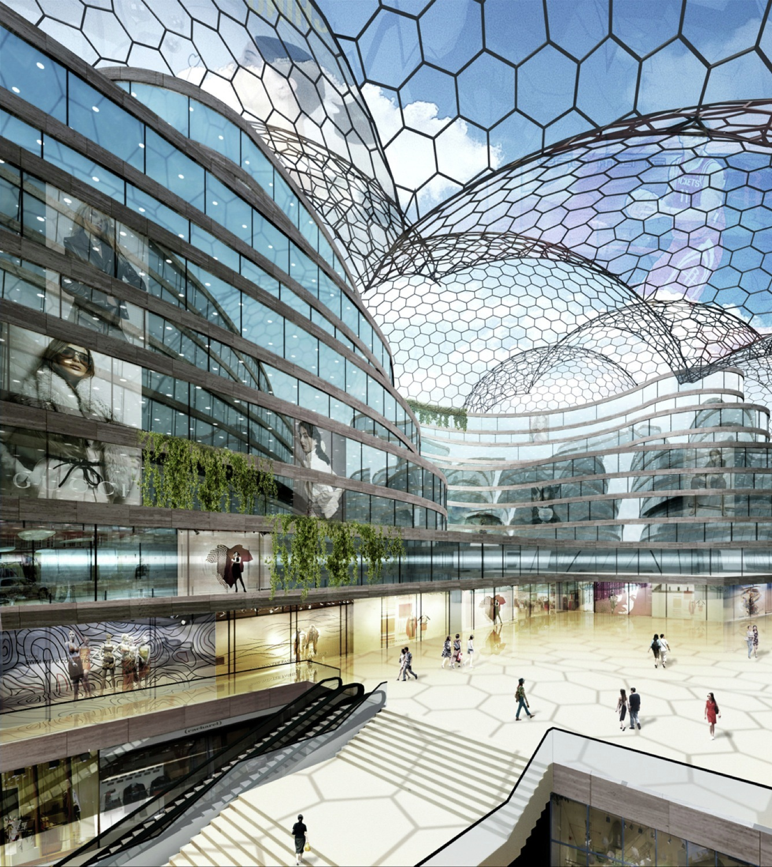 Gallery Of Chongqing New World Shopping Center Logon