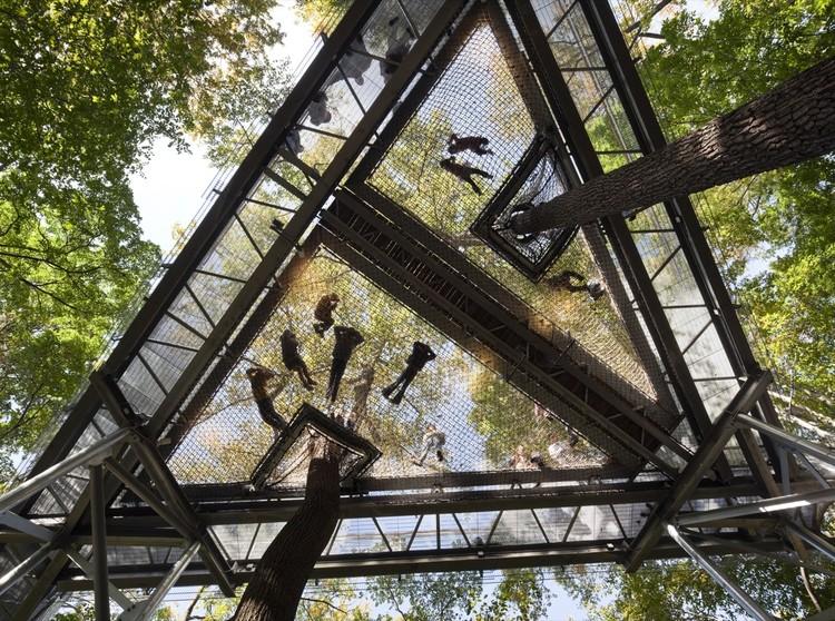 Morris Arboretum Tree Adventure Metcalfe Architecture