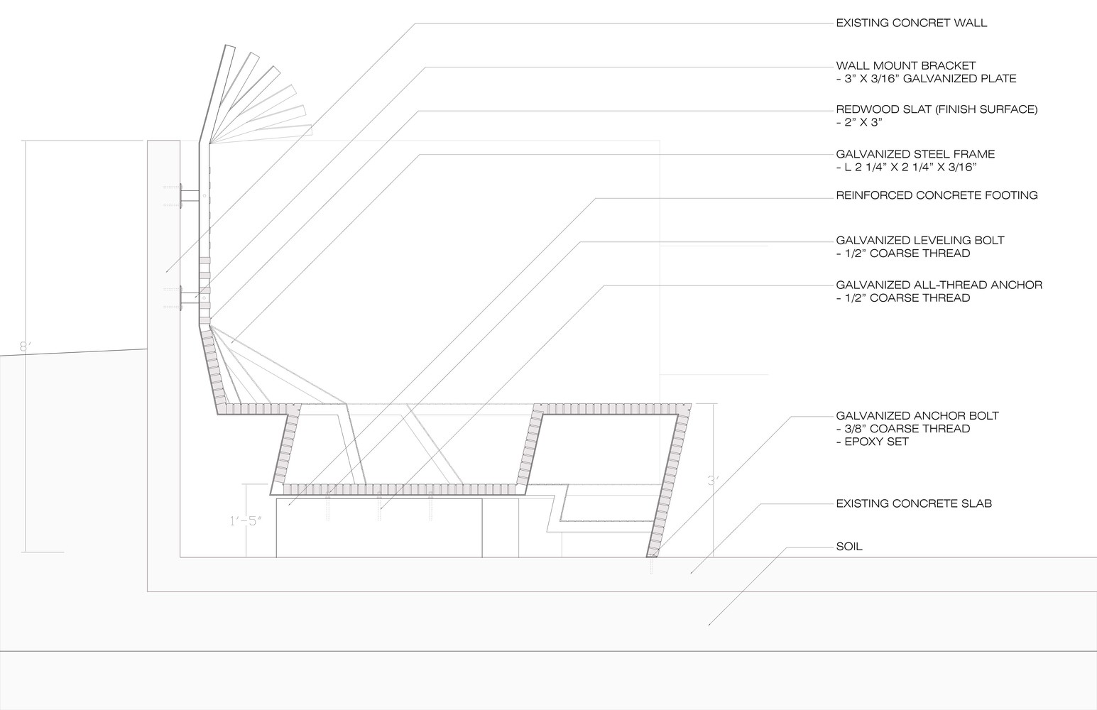 Wurstershire Sauce / UC Berkeley Landscape And Architecture Graduate  Student Team,shop Drawing Detail