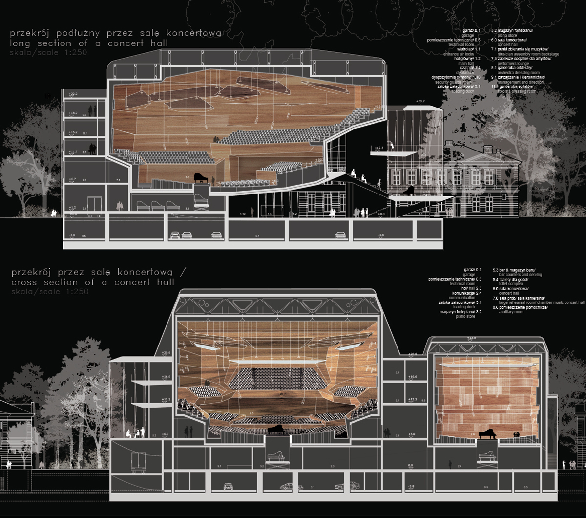 Hall Arch Designs For: Gallery Of Sinfonia Varsovia Concert Hall / Hermanowicz