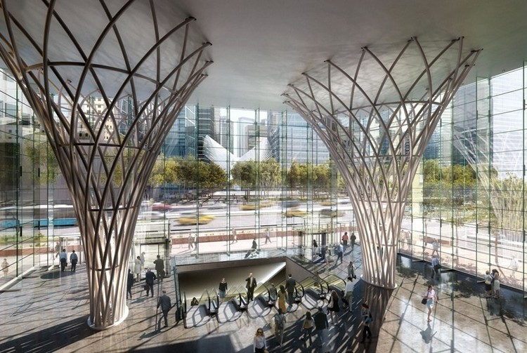 New Look For The Winter Garden Archdaily