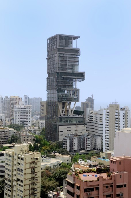Gallery of Antilia / World's Most Expensive House - 1