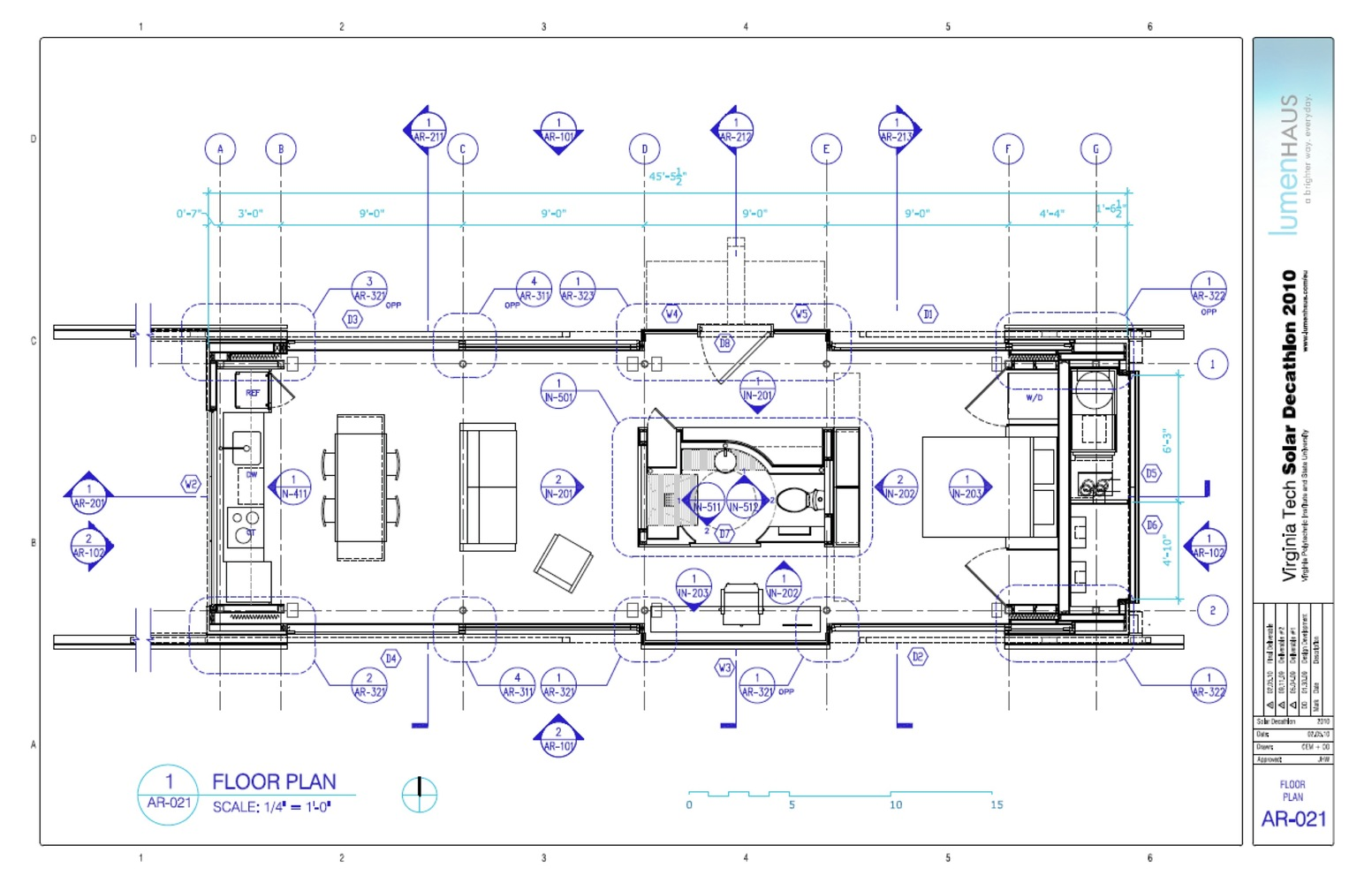 Solar Decathlon Lumenhaus Virginia Techplan