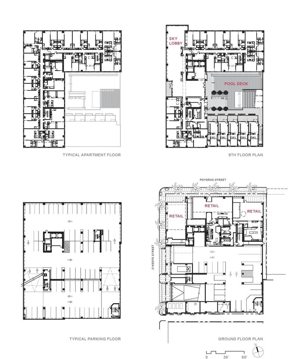 Gallery Of 930 Poydras Residential Tower Eskew Dumez