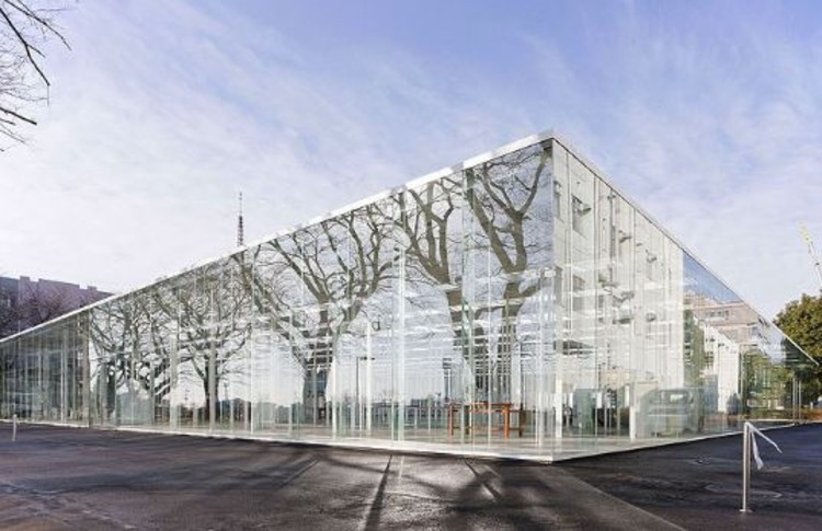 Modern Architecture Glass kanagawa institute of technology workshop / junya ishigami | archdaily