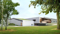 Library and auditorium for the University of Amiens / Serero Architects
