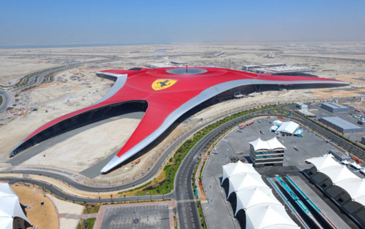 Ferrari World Abu Dhabi to Open October 28, 2010 | ArchDaily