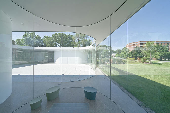 Gallery Of Glass Pavilion At The Toledo Museum Of Art Sanaa 11