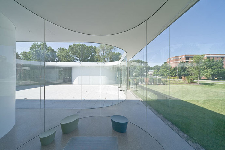 Glass Pavilion At The Toledo Museum Of Art Sanaa Archdaily