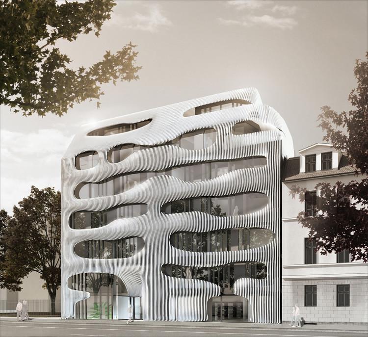 New Apartmenthouse Johannisstraße / J. Mayer H. Architects | ArchDaily