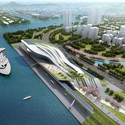 KAOHSIUNG PORT AND CRUISE SERVICE TERMINAL COMPETITION PROPOSAL / HMC ARCHITECTS